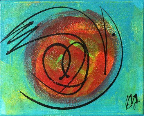 Matej Metlikovič: Iz cikla srčne ptice 1